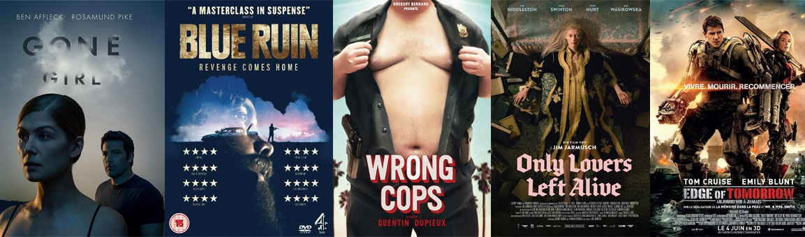 Mon Top 5 des films sortis en 2014