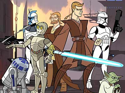 Star Wars Clone Wars – Guerre Animée