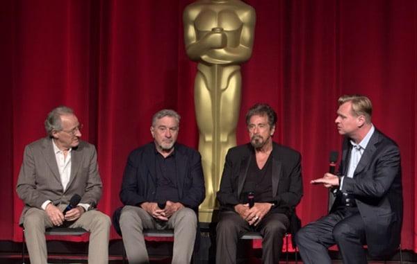 21 ans après Heat – De Niro, Pacino, Mann & Nolan : l'interview au sommet