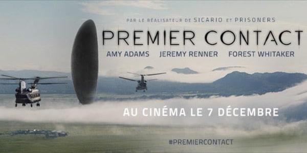 PREMIER CONTACT de Denis Villeneuve [critique]