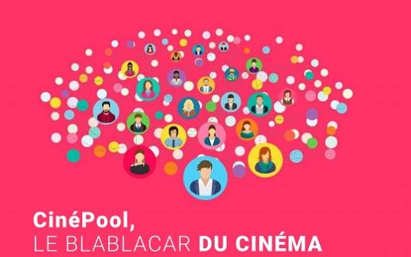 CinéPool : une appli qui se veut le Blablacar du cinéma