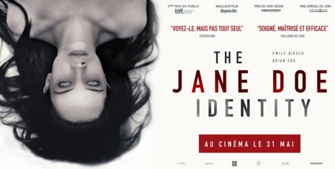 The Jane Doe Identity – critique du film
